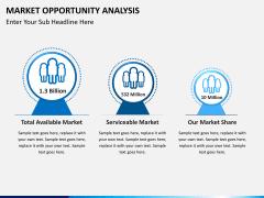 Market opportunity PPT slide 1
