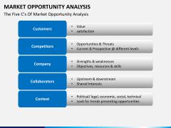 Market opportunity PPT slide 2
