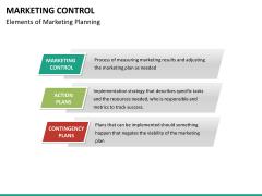 Marketing control PPT slide 20