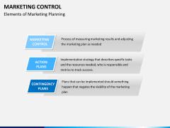 Marketing control PPT slide 8