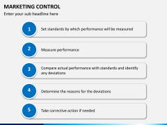 Marketing control PPT slide 9