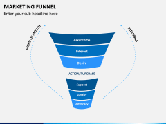Marketing funnel PPT slide 12