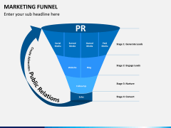 Marketing funnel PPT slide 2
