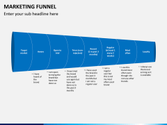 Marketing funnel PPT slide 8
