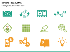 Marketing Icons PPT slide 12