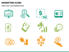 Marketing Icons PPT slide 18