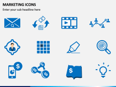 Marketing Icons PPT slide 2