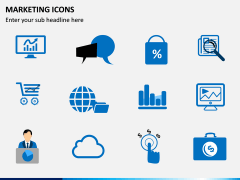 Marketing Icons PPT slide 3
