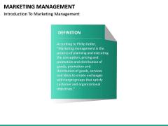 Marketing Management PPT slide 18