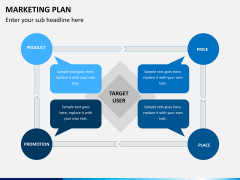 Marketing Plan PPT Slide 1