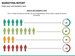 Marketing report PPT slide 16
