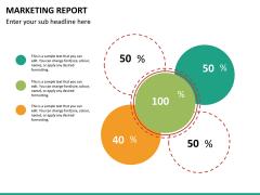 Marketing report PPT slide 18