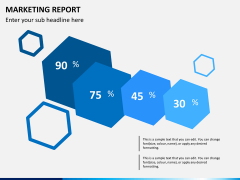 Marketing report PPT slide 2