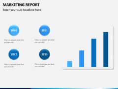 Marketing report PPT slide 8
