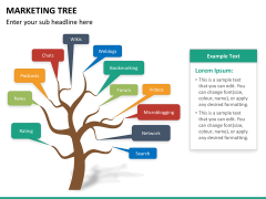 Marketing tree PPT slide 9
