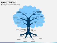 Marketing tree PPT slide 1