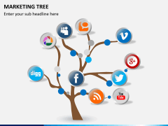 Marketing tree PPT slide 5