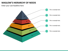 Maslow hierarchy of needs PPT slide 12