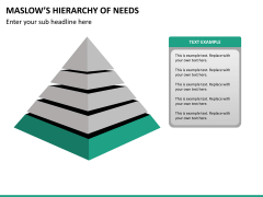 Maslow hierarchy of needs PPT slide 13