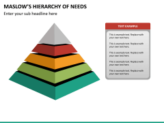 Maslow hierarchy of needs PPT slide 16