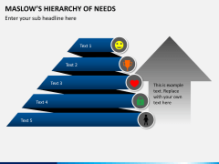 Maslow hierarchy of needs PPT slide 9