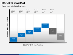 Maturity diagram PPT slide 9