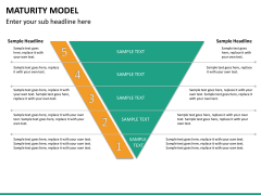 Maturity model PPT slide 14