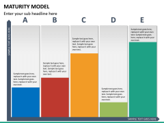 Maturity model PPT slide 16