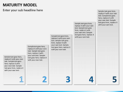Maturity model PPT slide 2