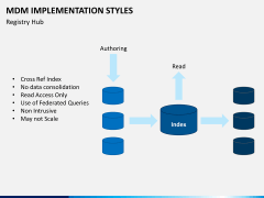 MDM implementation styles PPT slide 9