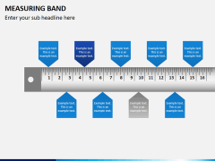 Measuring band PPT slide 4
