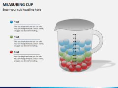 Measuring cup PPT slide 3