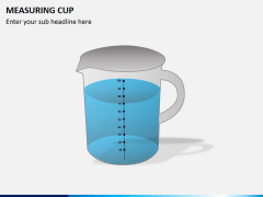 Measuring cup PPT slide 5