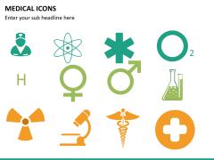 Medical icons PPT slide 11