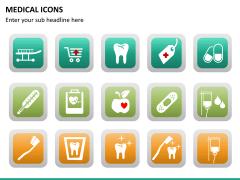 Medical icons PPT slide 13