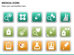 Medical icons PPT slide 14