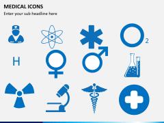 Medical icons PPT slide 3