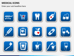 Medical icons PPT slide 5