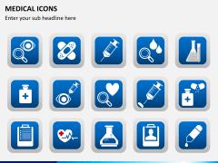 Medical icons PPT slide 6
