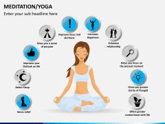 Meditation/yoga PPT slide 2