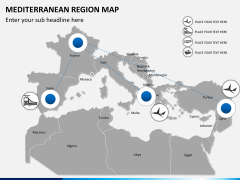 Mediterranean map slide 5