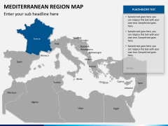 Mediterranean map slide 8