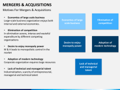 Mergers and acquisitions PPT slide 19