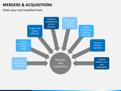 Mergers and acquisitions PPT slide 2