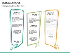 Message shapes PPT slide 9