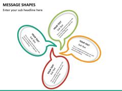 Message shapes PPT slide 12