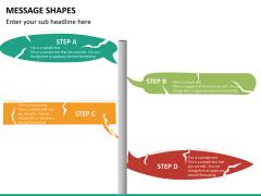 Message shapes PPT slide 13