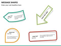 Message shapes PPT slide 14