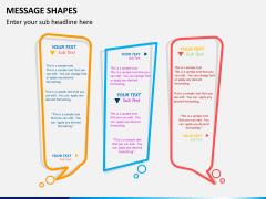 Message shapes PPT slide 1