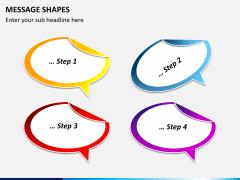 Message shapes PPT slide 2